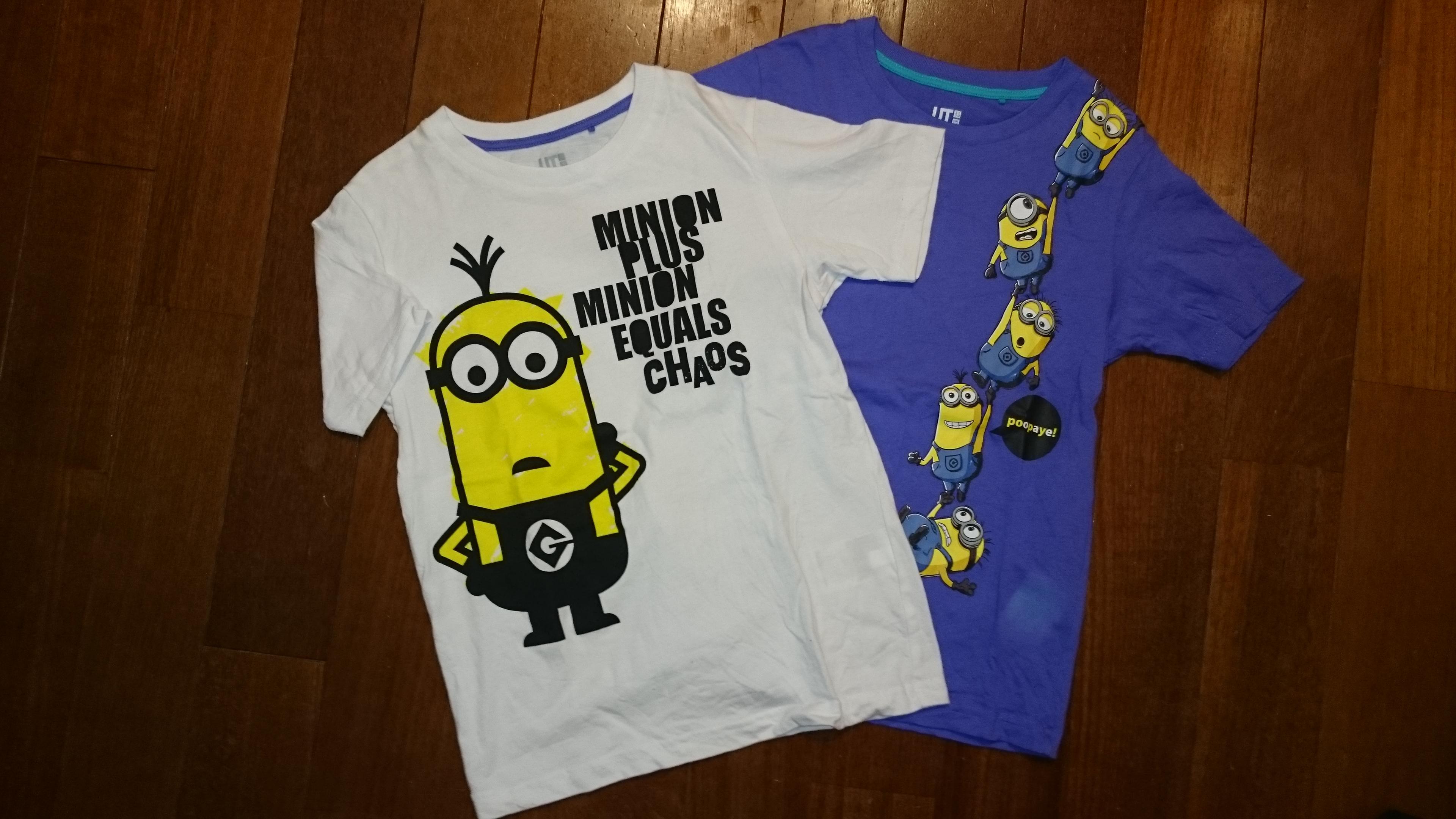 ミニオンTシャツ