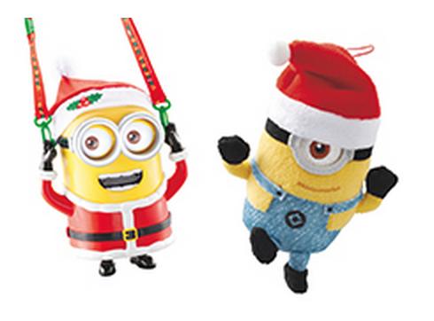 クリスマス限定ミニオンのポップコーンバケツ